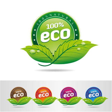 antipollution: Eco Icons - Ilustraci�n