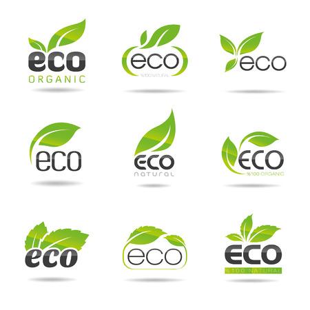 antipollution: Eco Icons Set - Illustration
