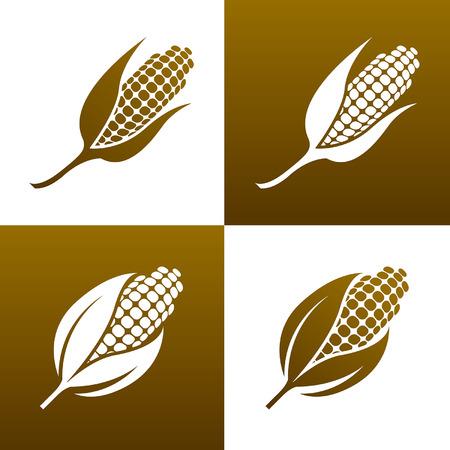 Corn Icon - Illustration