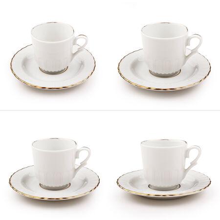 turkish coffee: Turkish coffee cup set Stock Photo