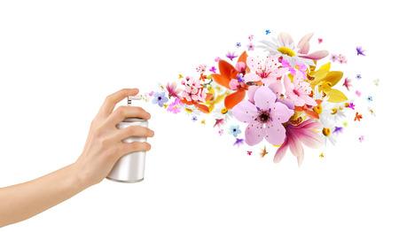 Aerosoles habitaciones perfumadas-Flor y flores de interior
