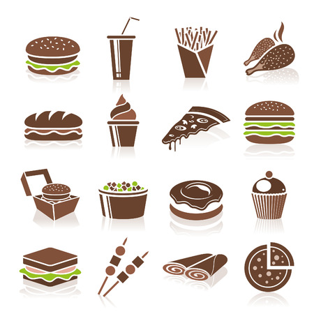 sandwich: Fast Food Icons