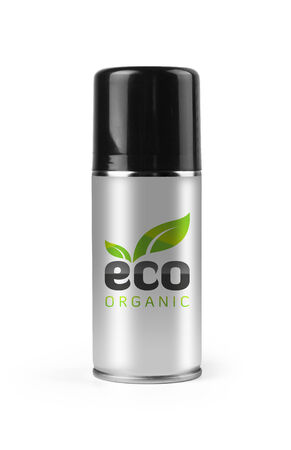 Eco spray with clipping path  photo