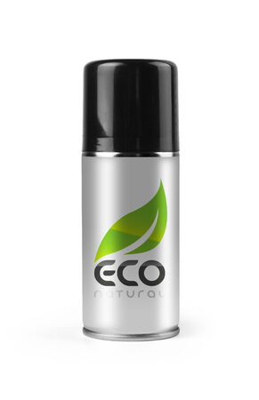 Eco spray with clipping path