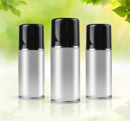 Eco sprays with clipping path photo