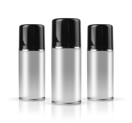 sprays with clipping path photo