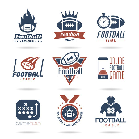 Football Icon Set - 3 Иллюстрация