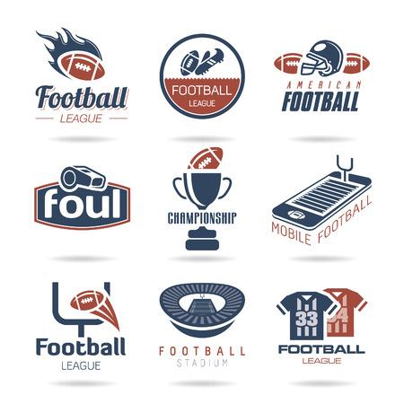football play: Football Icon Set - 2 Illustration