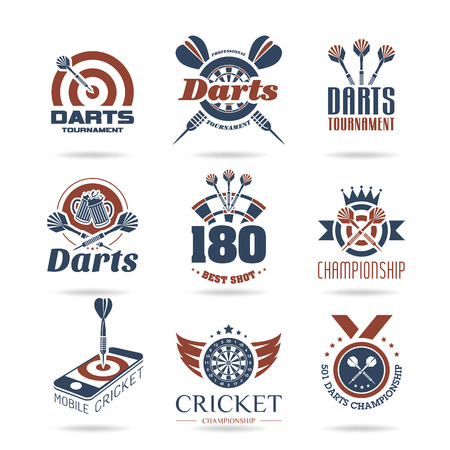 Darts icon set - 3