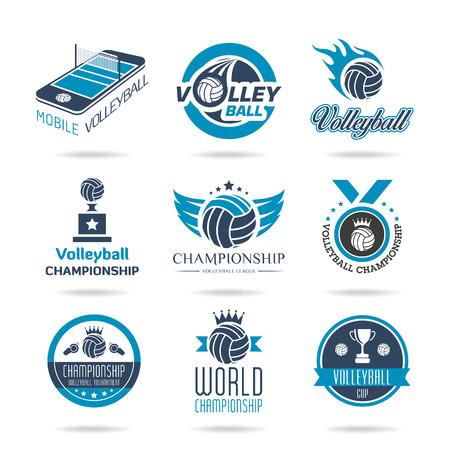 Voleibol icon set - 3