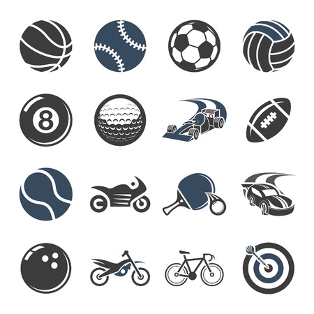 billiard ball: Sport vector icons for web and mobile.