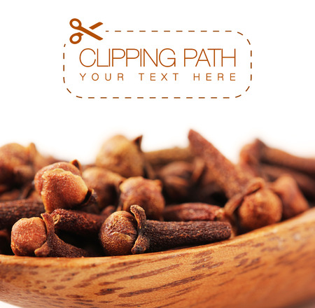 clipping  path: cloves with clipping path - 5