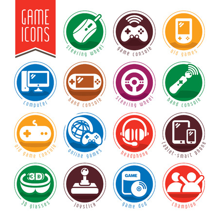 Game icon set.