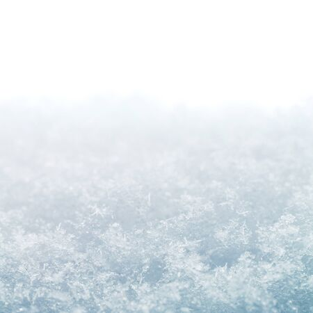 neige qui tombe: flocons de neige