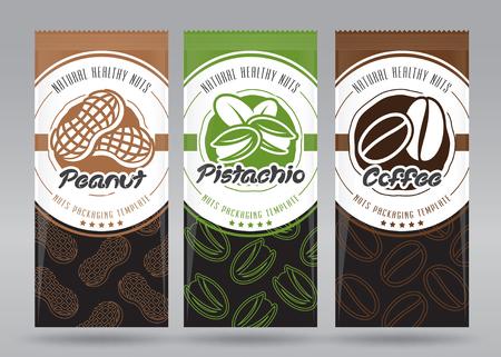 Nuts packaging set
