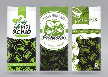 Pistachio packaging set