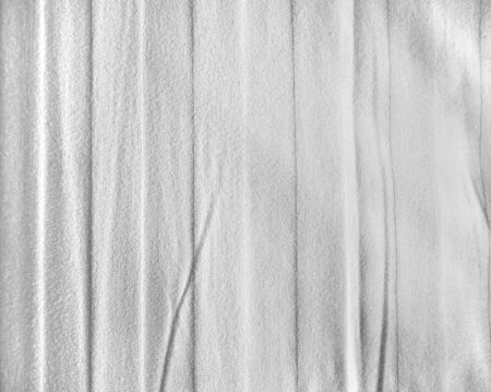 bed sheet: White bed sheet fabric texture background Stock Photo