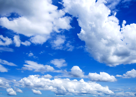 blue cloudy sky in daylight background stock photo picture and