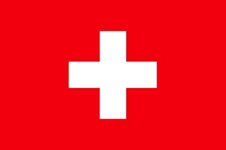 Flat Switzerland flag vector background
