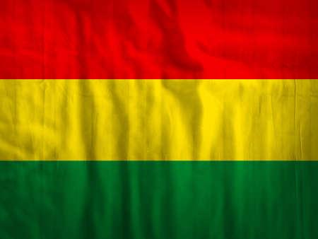 bolivia: Fabric Bolivia flag background texture Stock Photo