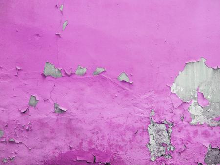 グランジの背後にあるコンクリート テクスチャと黄色塗られた壁