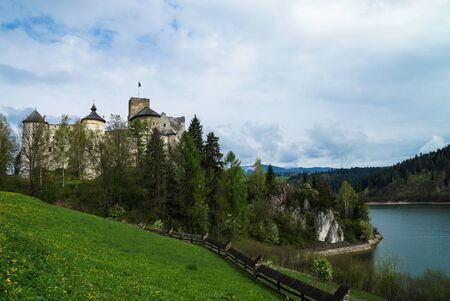 medieval castle: Medieval castle in Niedzica, Poland