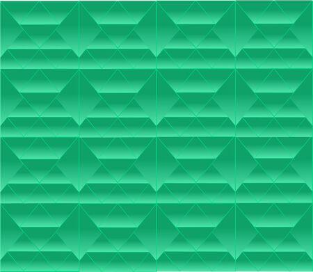groen behang: Abstracte groene achtergrond Stock Illustratie