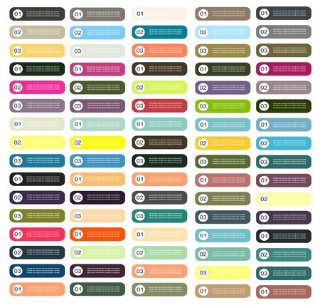 button: Infographic elements button vector illustratiton