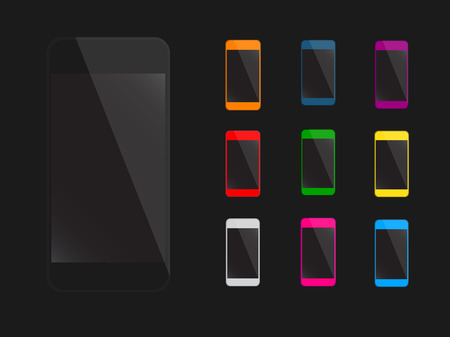 mobile phone icon: Mobile phone icon vector