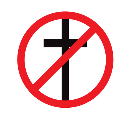 No religion sign background