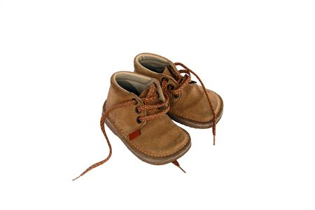 Baby shoes Reklamní fotografie