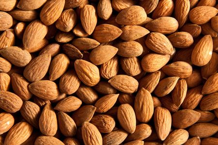 Raw dried almonds  Stock Photo - 6973178