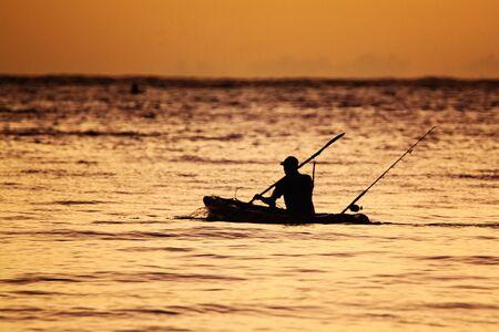 Mozambican Fisherman Reklamní fotografie