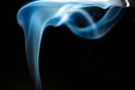 aromas: Smoke shapes from aromas incense