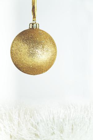 Gentle golden Christmas