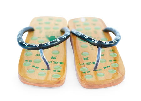 Two Chinese summer sandals
