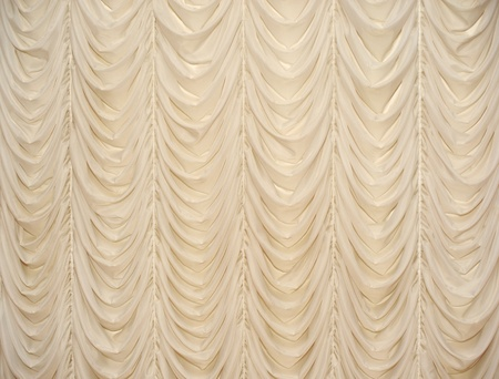 curtain window: Beautiful beige curtain