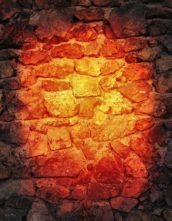 熱い石のテクスチャ 写真素材 - 21527295