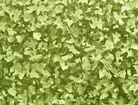 Texture camouflage, green-colored, abstract shapes