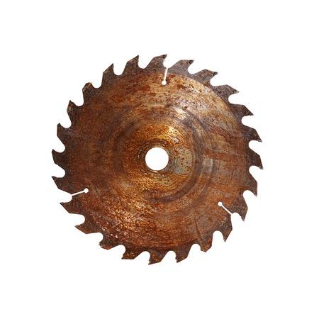 Old circular saw Stockfoto