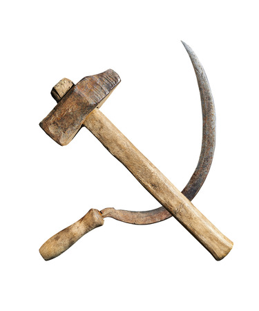 sickle: symbol of the USSR hammer and sickle