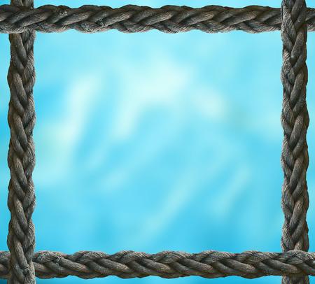 Blue blurred background Stockfoto