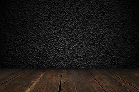 Concrete textured wall with the floor
