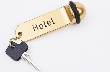 key fob: Golden key fob