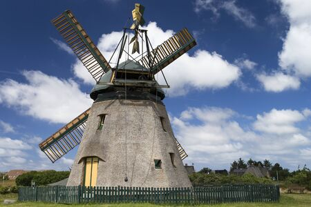 Image shows a traditional windmill in Germany Standard-Bild
