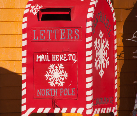 mail box: santa claus mail box, North Pole,Mahone Bay,Nova Scotia