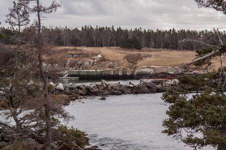 scotia: Nova Scotia, south shore landscape