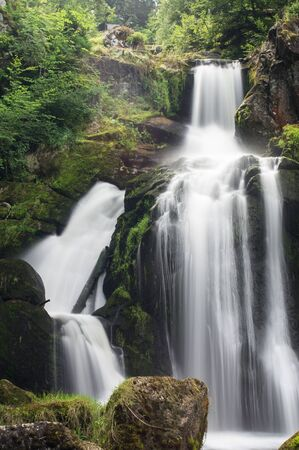 Waterfalls of Triberg in the Black Forest.