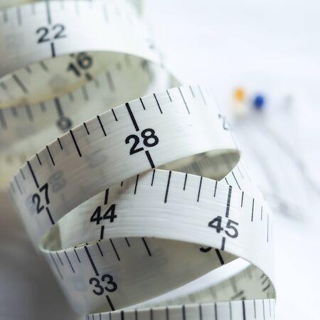 tela algodon: Adaptar la cinta métrica 2