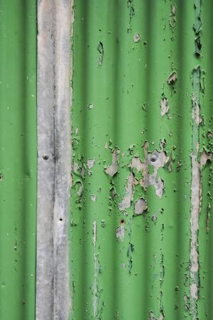 flaking: Texture Flaking Paint Green